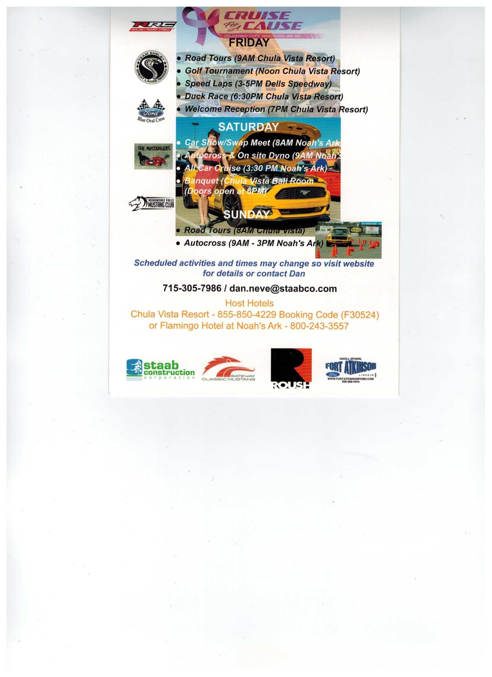 Havill Spoerl Ford >> Cruisin For A Cause All Ford Event Wisconsin Dells Wi